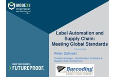 Label Automation and the Supply Chain - Meeting Global Standards