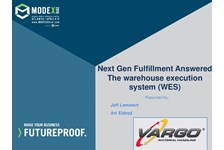 Next Gen Fulfillment Answered - The warehouse execution system (WES)