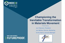 Championing the Inevitable Transformation in Materials Movement