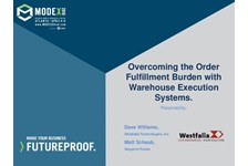 Overcome the Order Fulfillment Burden with Warehouse Execution Systems