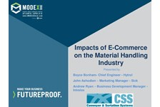 CSS of MHI Presents: Impacts of E-Commerce on the Material Handling Industry