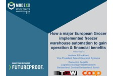 How a major European Grocer Implemented Freezer Warehouse Automation to gain Operation & Financial Benefits