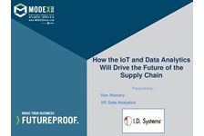 ???How the IoT and Data Analytics Will Drive the future of the Supply Chain???
