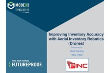 Improving Inventory Accuracy with Aerial Inventory Robotics (Drones)