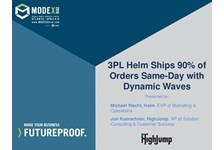 3PL Helm Ships 90% of Orders Same-Day with Dynamic Waves