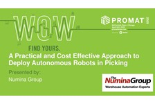 A Practical and Cost Effective Approach to Deploy Autonomous Robots in Picking