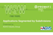 AGVS of MHI presents: Applications Segmented by Subdivisions