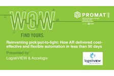 Reinventing pick/put-to-light: How Augmented Reality delivered cost-effective and flexible automation in less than 90 Days