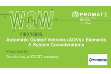 Automatic Guided Vehicles (AGV): Elements & System Considerations