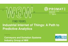 CSS of MHI presents: Industrial Internet of Things: A Path to Predictive Analytics