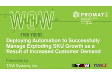 Deploying Automation to successfully manage exploding SKU growth as a result of increased customer demand.