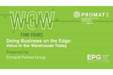 Doing Business on The Edge: Voice in the Warehouse Today