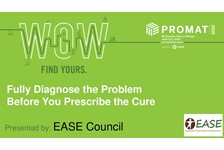 EASE COUNCIL of MHI presents: Fully Diagnose the Problem Before you Prescribe the Cure