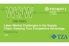 Labor Market Challenges in the Supply Chain: Keeping Your Competitive Advantage
