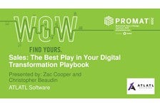 Sales: The Best Play in Your Digital Transformation Playbook