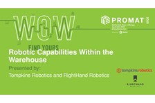 Robotic Capabilities Within the Warehouse