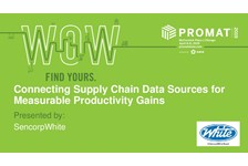 Connecting Supply Chain Data Sources for Measurable Productivity Gains