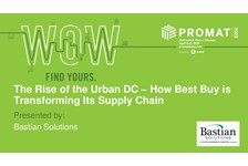 The Rise of the Urban DC ??? How Best Buy is Transforming Its Supply Chain