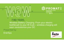 Wireless Battery Charging: From your electric toothbrush to your lift truck - wireless charging will soon revolutionize your DC