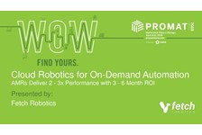 Cloud Robotics for On-Demand Automation: AMRs Deliver 2-3X Performance with 3-6 Month ROI