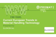 Current European Trends in Material Handling Technology