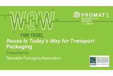 Reuse Is Today???s Way for Transport Packaging