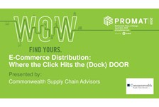 E-Commerce Distribution: Where the Click Hits the (Dock) Door