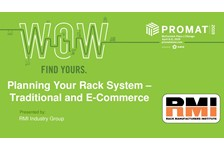 RMI of MHI presents: Planning Your Rack System ??? Traditional and E-Commerce