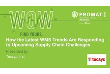 How The Latest WMS Trends are Responding to Upcoming Supply Chain Challenges.