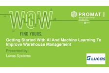 Getting Started With AI and Machine Learning To Improve Warehouse Management