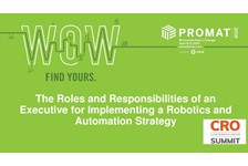 The Roles and Responsibilities of an Executive for Implementing a Robotics and Automation Strategy in Materials Handling