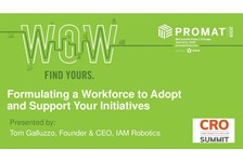 Formulating a Workforce to Adopt and Support Your Initiatives