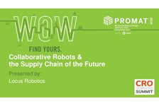 Collaborative Robotics and the Supply Chain of the Future