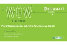 Visual Navigation for Wheeled, Autonomous Robots