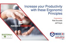 Increase your Productivity  with these Ergonomic? Principles