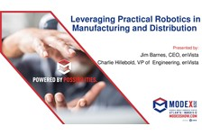 Leveraging Practical Robotics in Manufacturing and Distribution