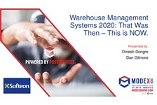 Warehouse Management Systems 2020: That Was Then - This is NOW.