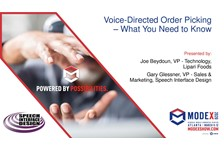 Voice-Directed Order Picking - What You Need To Know