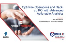 Optimize Operations and Rack-up ROI with Advanced Analytics