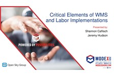 Critical Elements of WMS and Labor Implementations