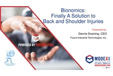 Bionomics-Finally A Proven Solution to Back and Shoulder Injuries