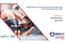 WMS Systems:  Drive efficiencies, reduce costs and improve service levels