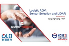 Logistic AGV: Sensor Selection and LiDAR