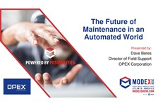 The Future of Maintenance in an Automated World