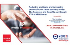 Reducing Accidents & Increasing Productivity in Urban Delivery Zones: The Features and Benefits of the Class 6 FTR & NPR Line Up