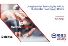 Using NextGen Technologies to Build Sustainable Food Supply Chains