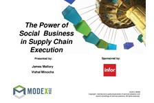 308: The Power of Social Business in Supply Chain Execution ...