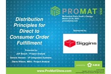 Distribution Principles for Direct to Consumer Order ...