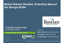 Mobile Robotic Shuttles: Extending Beyond the Storage Buffer