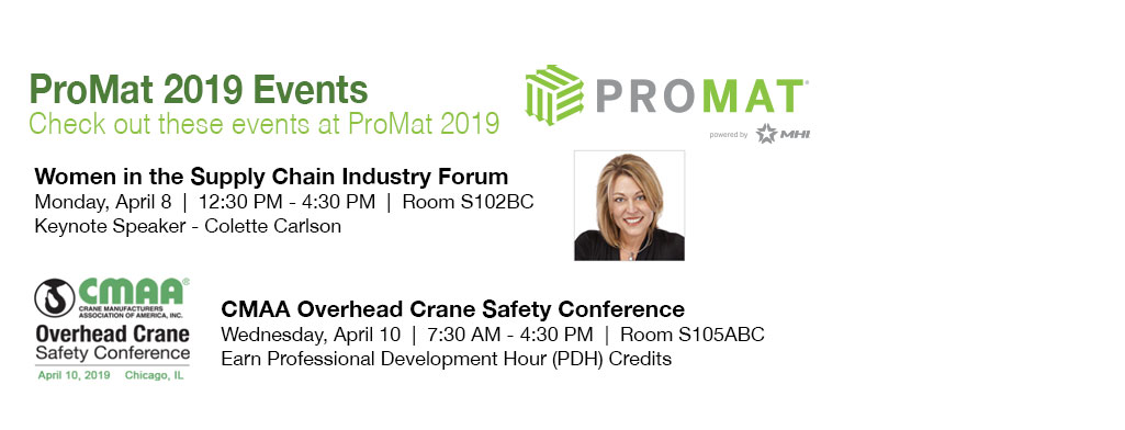ProMat 2019 Events